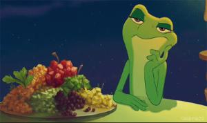 tiana-frog