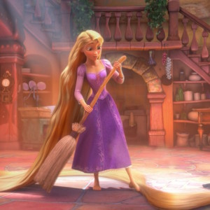 rapunzel-sweeping