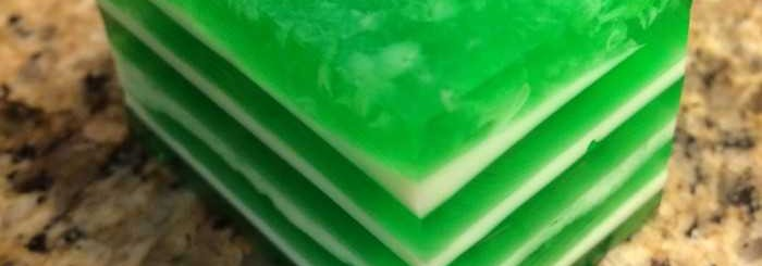 Football Field Jello