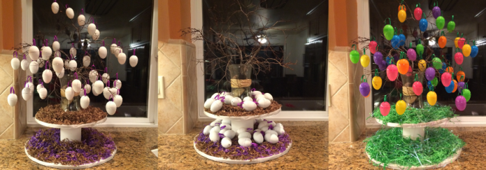 Preparing for Easter with a Lenten Tree