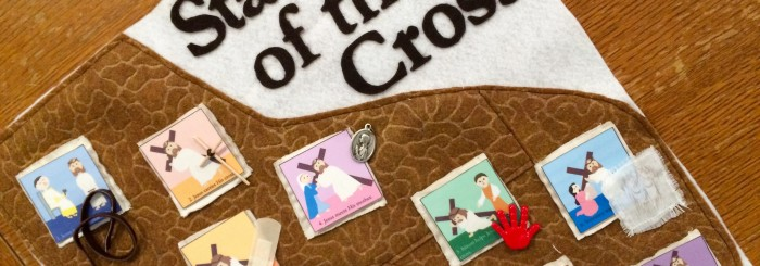 Stations of the Cross Mat