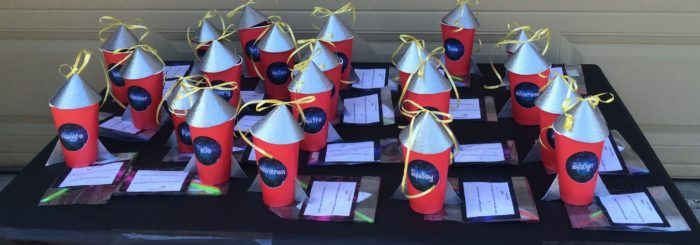 Rocket Ship Party Favors