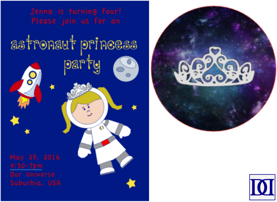 astronaut_princess_invitation