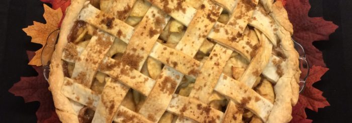 Fresh Apple Pie with a Lattice Crust
