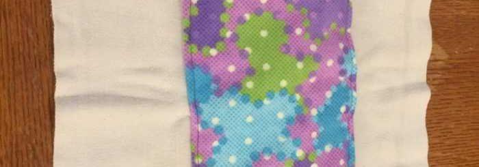 Burp Cloth Tutorial Using Cloth Diapers