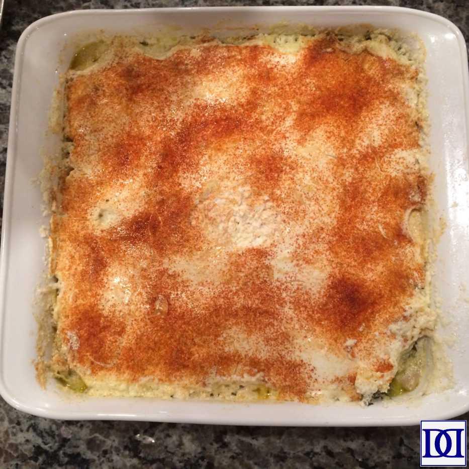 evolving_thanksgiving_spinach_artichoke_casserole