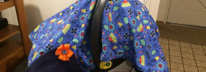 DIY Carseat Canopy