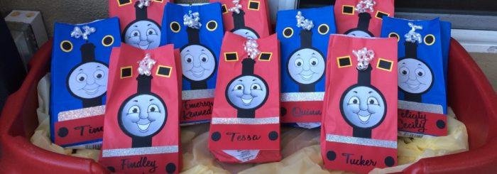 Train Party Favors
