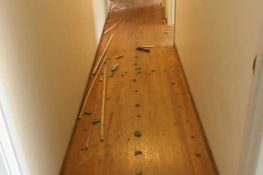 If you give a house some hardwood…