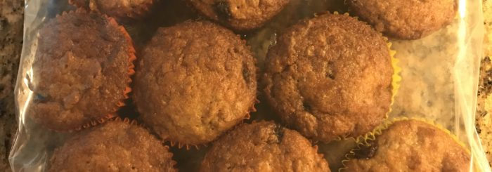 Easy (and Freezable) Bran Muffins