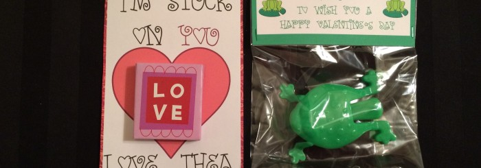 Printable Valentines (Stickers and Frogs)