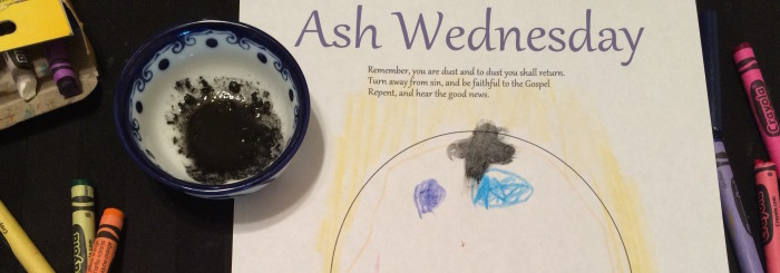 Ash Wednesday Craft for Kids