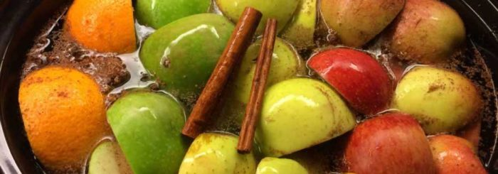 Fresh Crockpot Apple Cider