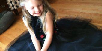 Tulle Circle Skirt Tutorial